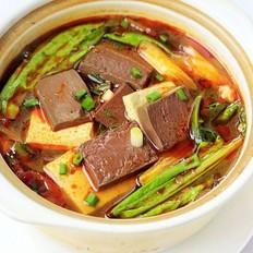 鸭血豆腐煲