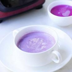 奶香紫薯米糊
