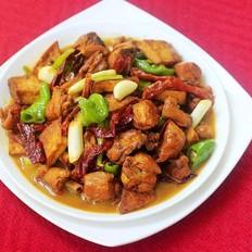 豆腐大盘鸡