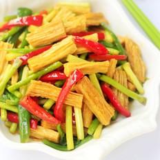 蒜薹炒腐竹