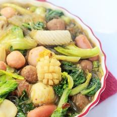 小白菜煮粉条
