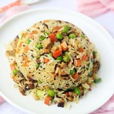 香菇豌豆低糖饭