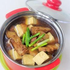 电饭煲豆腐炖肉