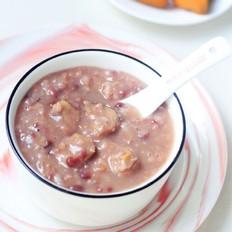 板栗红豆粥