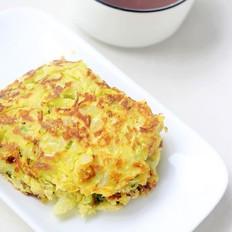 土豆包菜饼