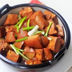 肉皮烧豆腐