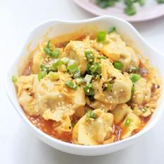 麻辣拌饺子