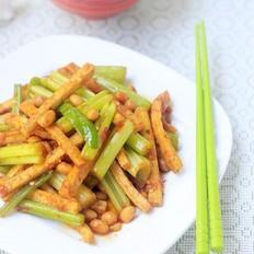 酱炒芹菜豆腐干