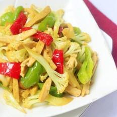 花菜炒豆腐干
