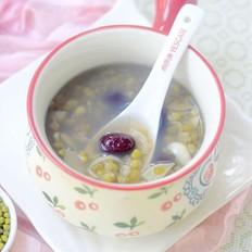 红百合绿豆汤
