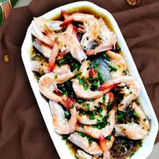粉丝比虾好吃的粉丝蒸虾