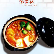 热乎乎的泡菜锅,驱寒还管饱!