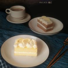 白巧克力奶油夹心蛋糕的做法