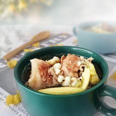 排骨玉米笋祛湿汤