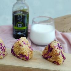 紫甘藍飯團的做法