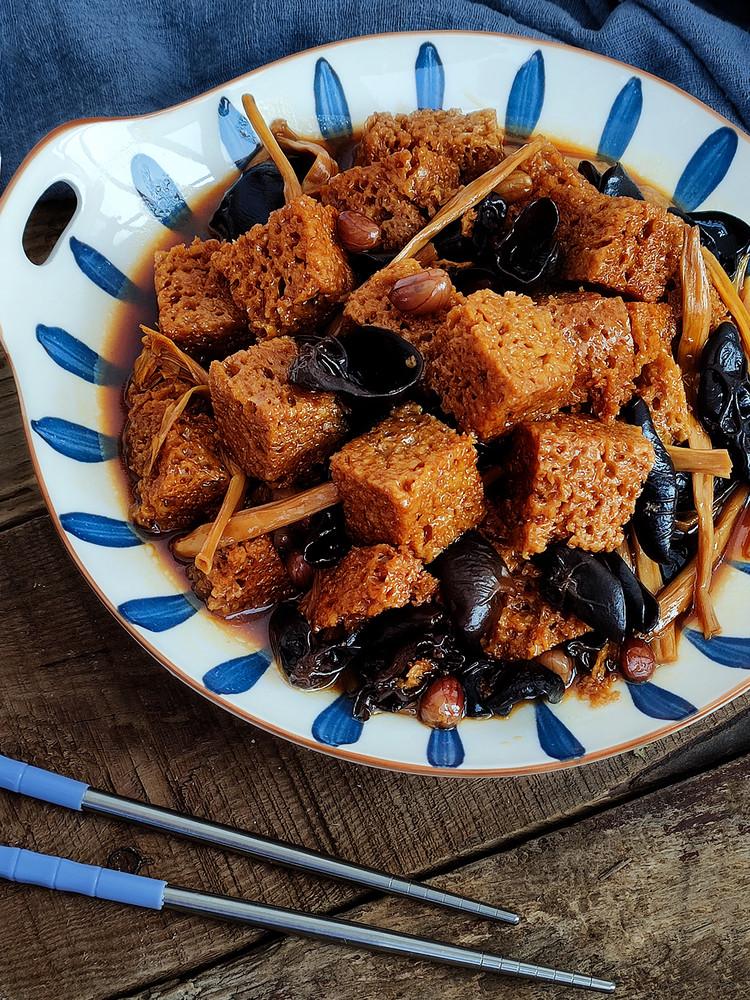 上海名菜四喜烤麸