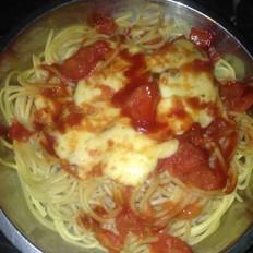 芝士番茄焗意粉的做法