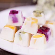 酸奶水果冰