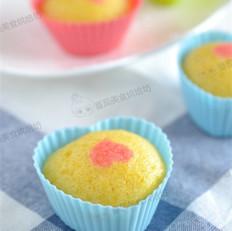 心形蒸蛋糕