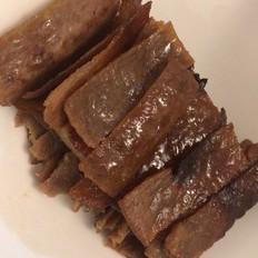 烤箱莫积灰 · 自制喷香猪肉脯的做法