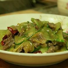 黄瓜炒牛肉