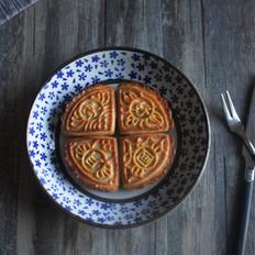 广式月饼之椰蓉月饼
