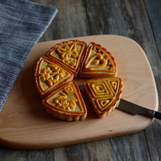广式月饼之香芋月饼