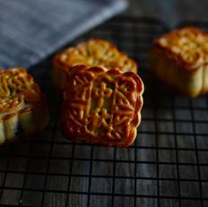 广式月饼之紫薯月饼