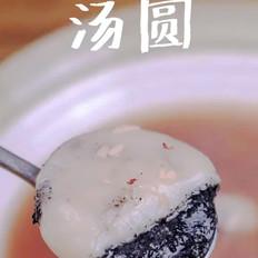 红豆酒酿汤圆的做法