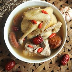 红枣枸杞清炖鸽子的做法