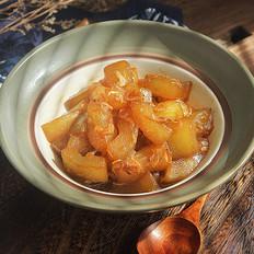 冬瓜蚝油烧虾皮的做法
