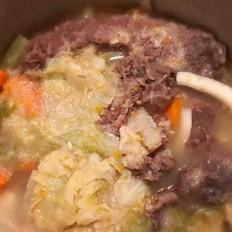 清汤蔬菜炖牛筋腩的做法