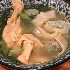 砂锅云吞鸡的做法