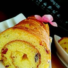 蔓越莓蛋糕卷
