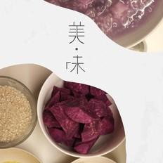 小米紫薯山药粥