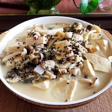 藜麦鲫鱼豆腐汤