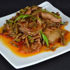 干豇豆回锅肉