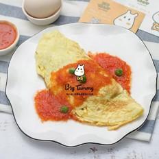 鹅肝蛋包饭