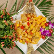 芒果鲈鱼的做法