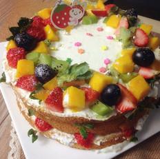 花环水果蛋糕