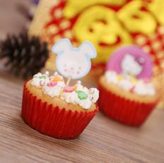 新年系列——超级可爱cupcake!