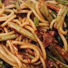 新疆牛肉炒米粉
