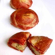 鲜肉千层红酥饼。