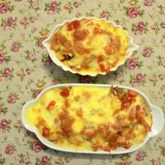 土豆鸡肉焗饭