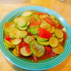 西红柿炒小瓜