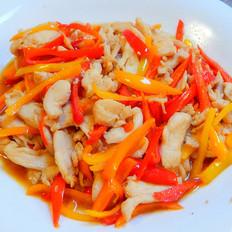 彩椒炒鸡肉