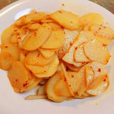凉拌辣土豆片