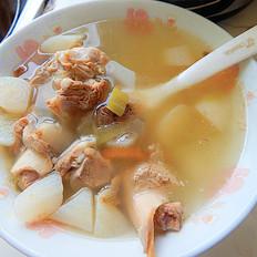 白萝卜大骨汤