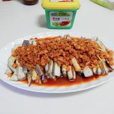 酱香肉末蒸茄子