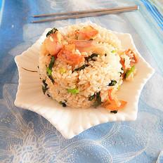 咸肉炒菜饭